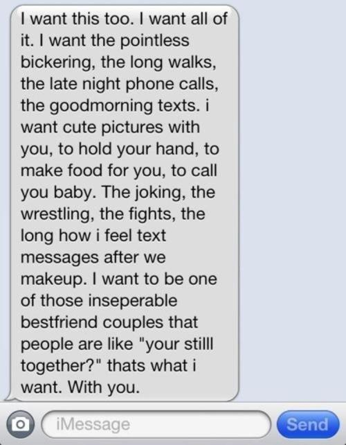 Cute texts quotes