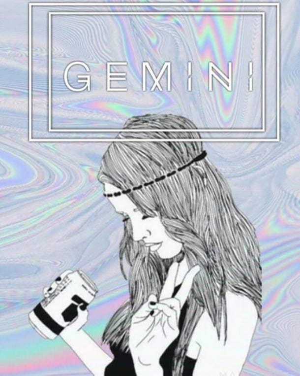 gemini zodiac signs drunk
