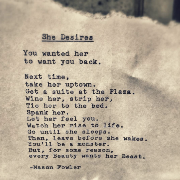 Sex three times poem