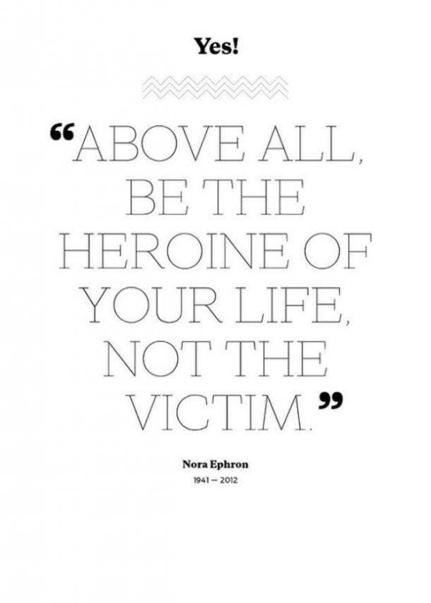 Nora Ephron emotional quotes
