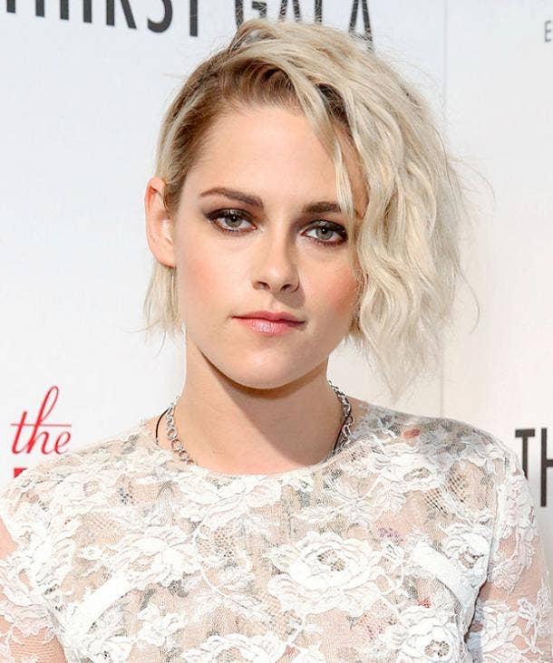 Kristen Stewart Blonde Celebrities Body-Image Confidence