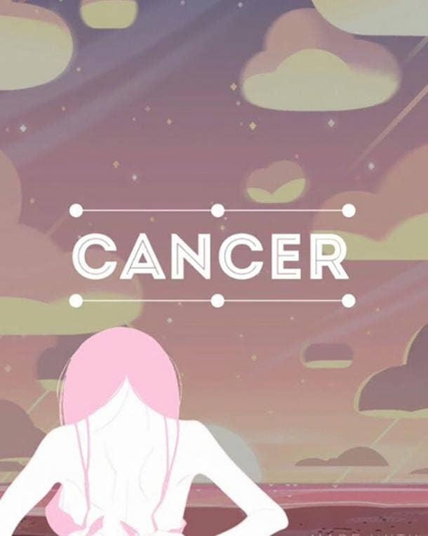 Cancer he thinks i'm cute zodiac sign