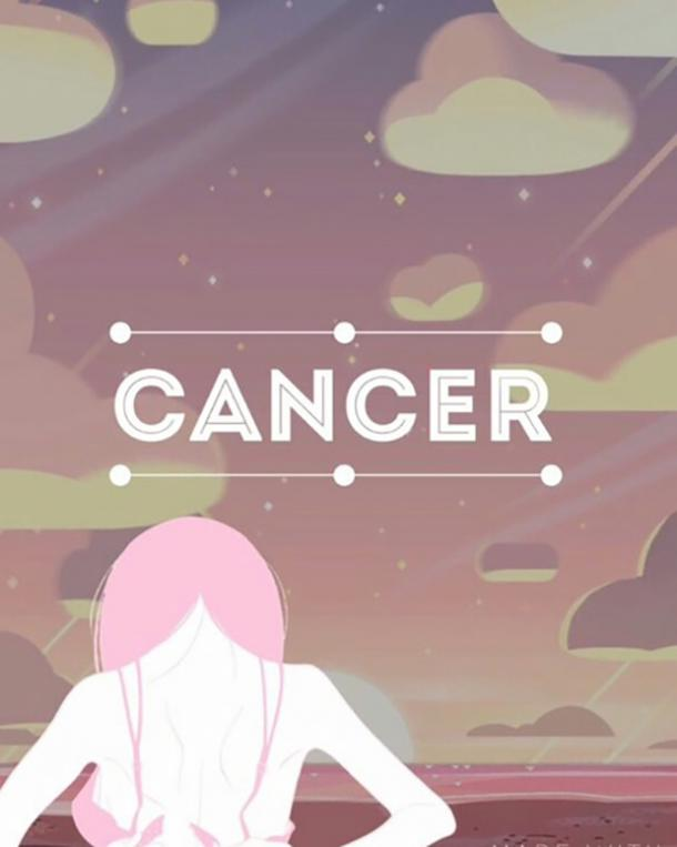 cancer zodiac sign can't stop thinking about you