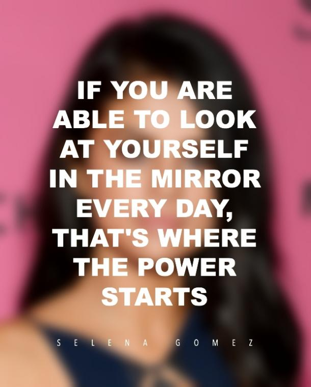 Selena Gomez Quote Mental Health Loving Yourself