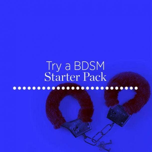 Try a BDSM starter pack