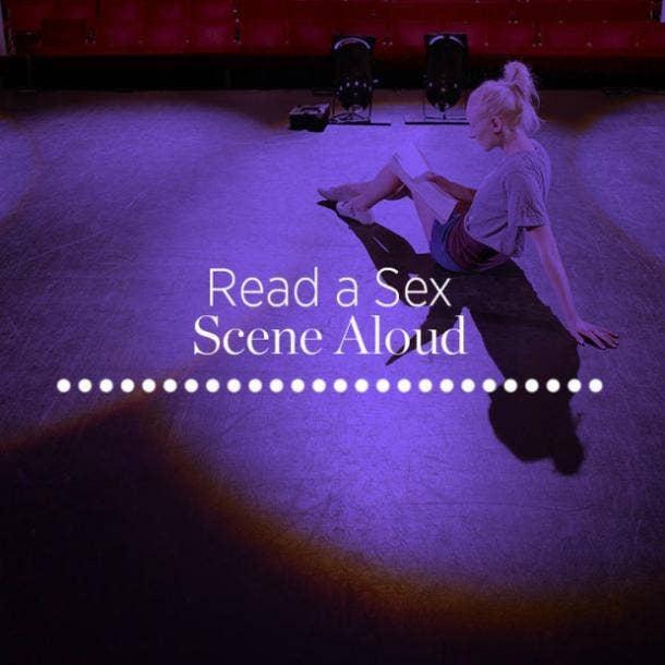 7. Read a sex scene aloud