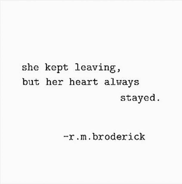 Heartbreaking quotes Instagram Poet R. M. Broderick