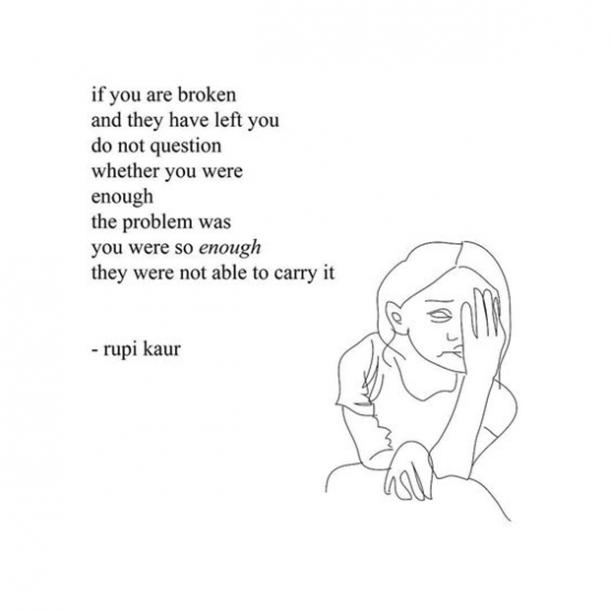 Rupi Kaur Quotes Milk and Honey instagram Poet