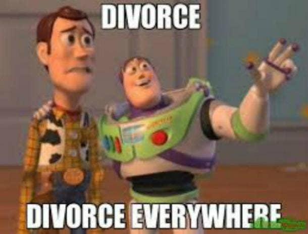 divorce memes