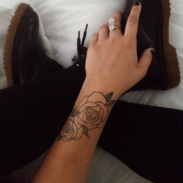 d798bc94b33d7 15 Wrist Tattoo Ideas That Are PERFECT For Summer | YourTango