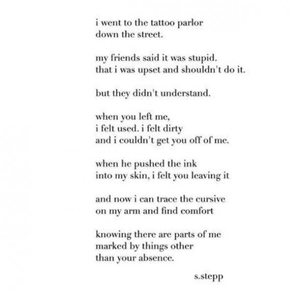 Sara Stepp Poet Instagram Breakup Quotes About Love and Heartbreak