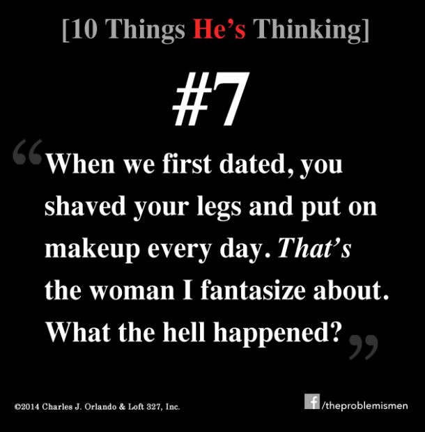 """<a href=""""http://www.theproblemismen.com"""">The Problem With Women Is Men</a>"""