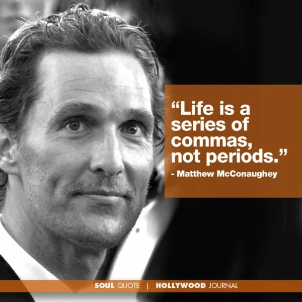matthew mcconaughey quote