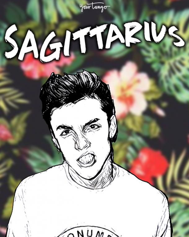 sagittarius most to least arrogant zodiac signs