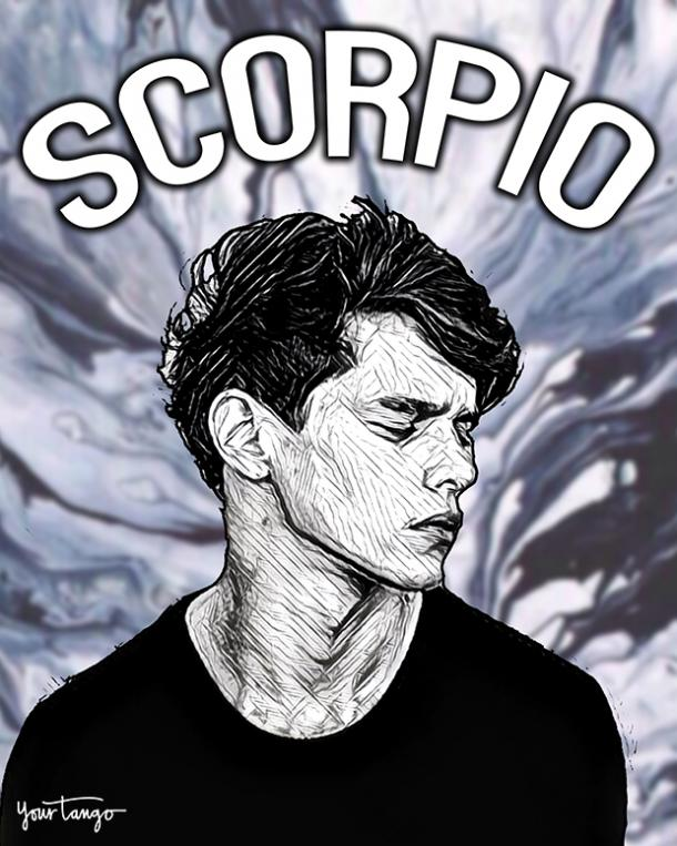 Scorpio zodiac sign is he going to fall in love with me