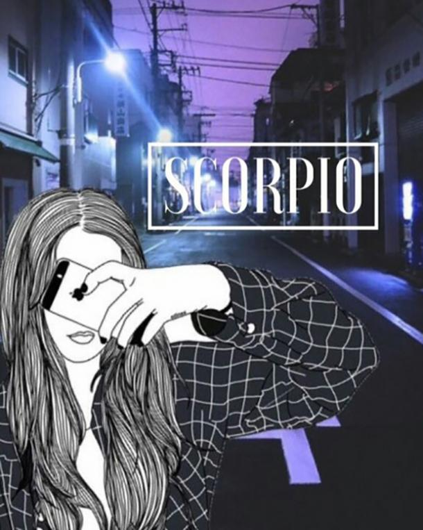 Scorpio zodiac sign stress bad day