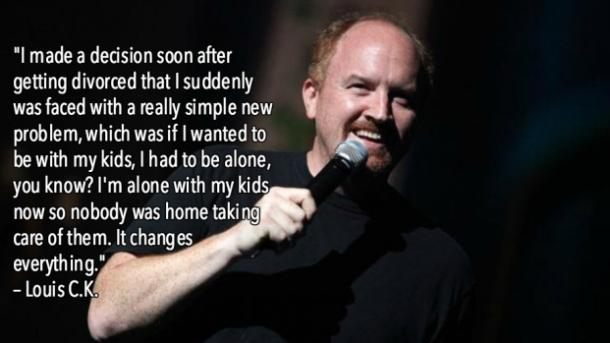 Louis C.K. Funny Quotes Divorce