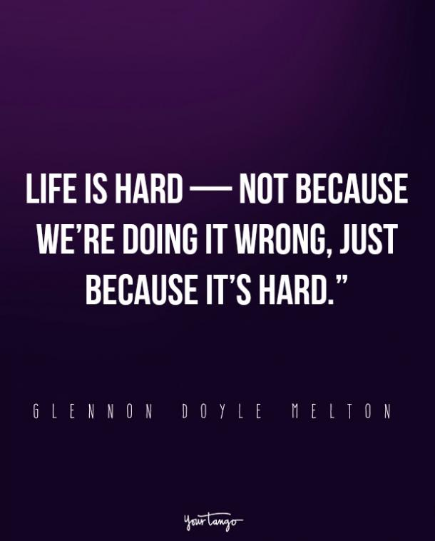 glennon doyle melton quotes about life