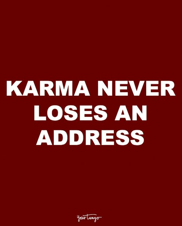 karma quotes for cheaters