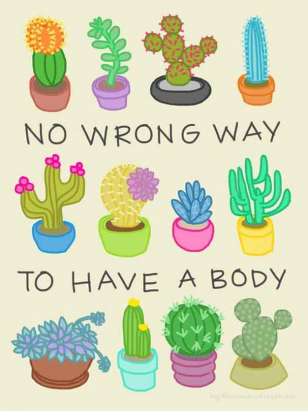 Body-Positive Quotes Self-Esteem Confidence For Summer
