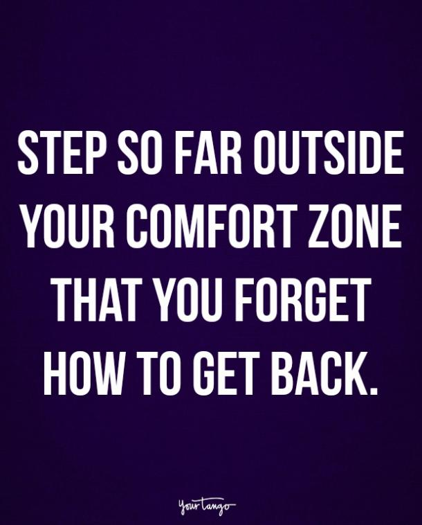 famous quotes how to step out of your comfort zone