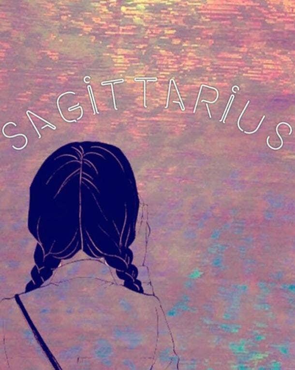 sagittarius zodiac sign when you're sad after a breakup
