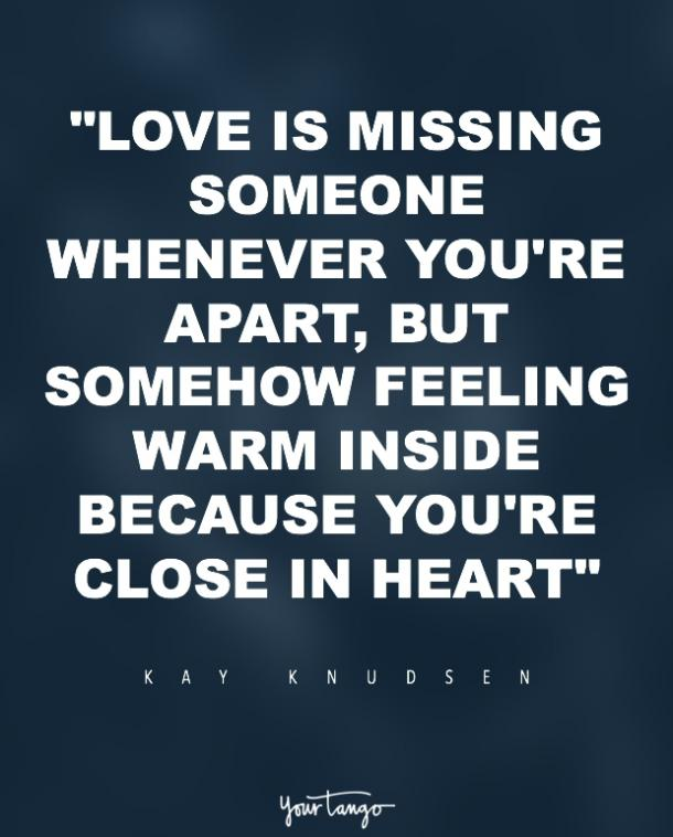 kay knudsen missing someone quote