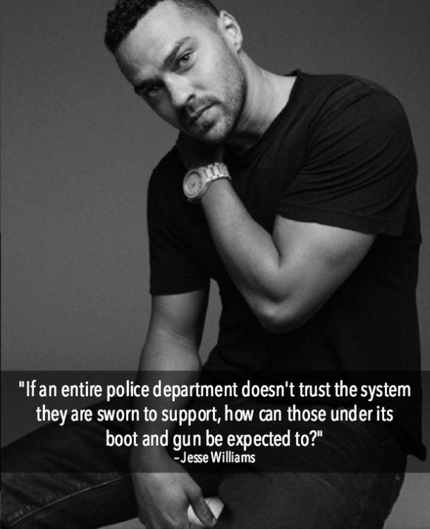 Jesse Williams Inspirational Quotes