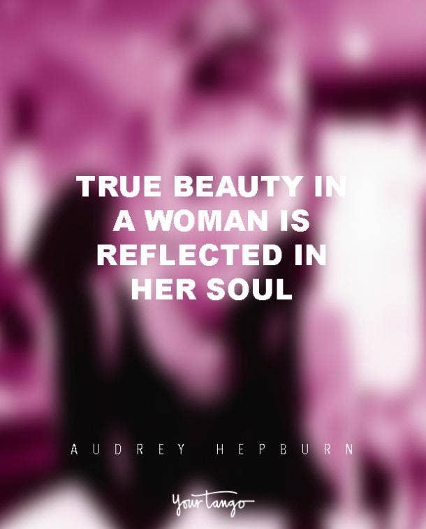 Audrey Hepburn Quotes Self Esteem Confidence True Beauty