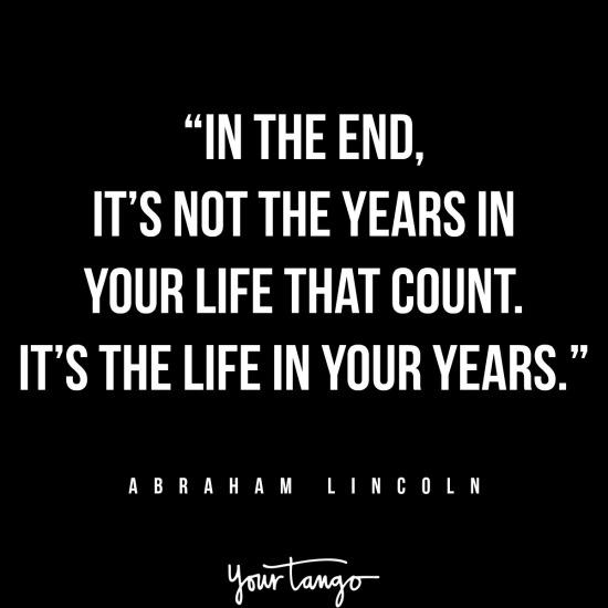 Abraham Lincoln inspirational president quotes