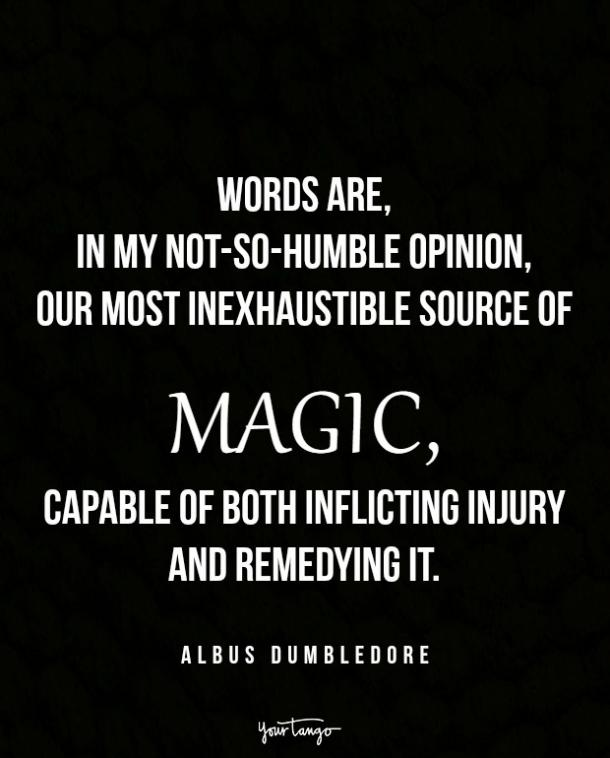 Albus Dumbledore Harry Potter quotes
