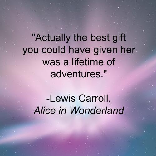 Alice in Wonderland inspirational quotes