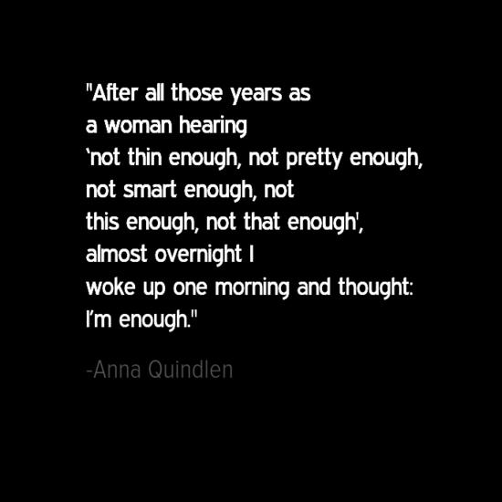 Anna Quindlen women quote