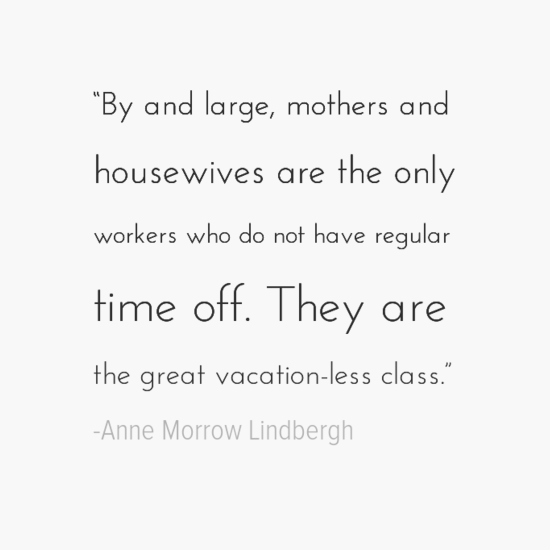 Anne Morrow Lindbergh mothers day quotes