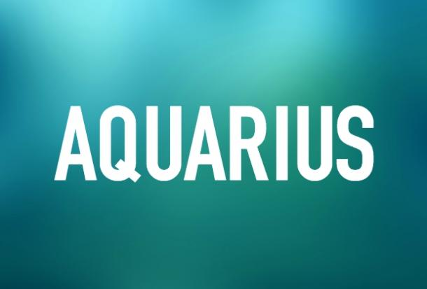 Aquarius zodiac signs people never change
