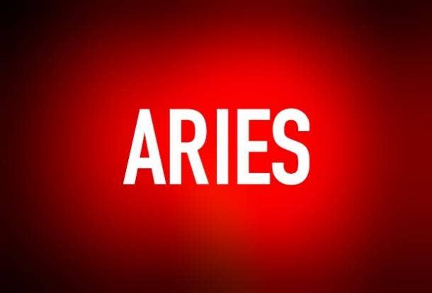 Zodiac Astrology Relationships Aries