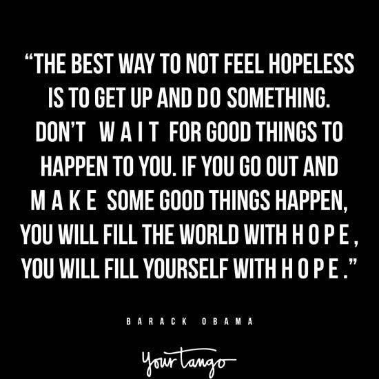 Barack Obama inspirational president quotes