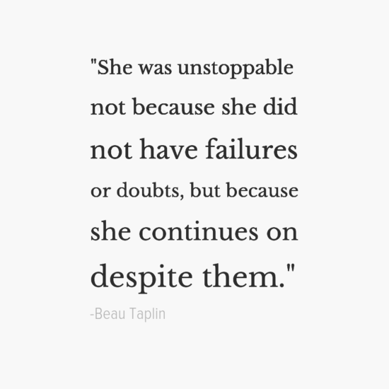 Beau Taplin inspirational quotes