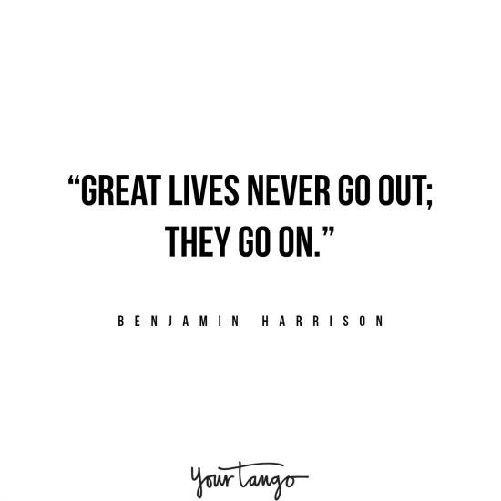 Benjamin Harrison inspirational president quotes