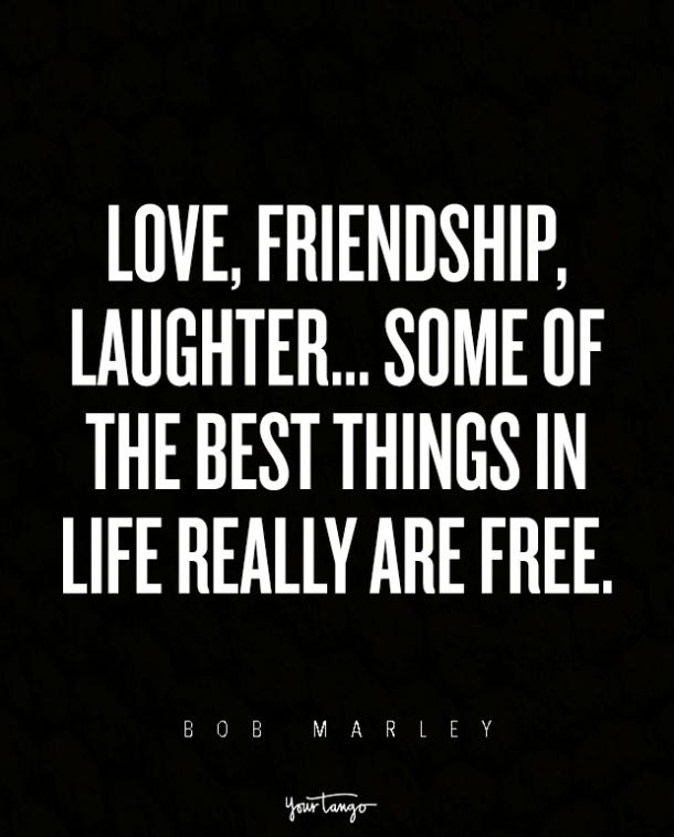 Bob Marley Quotes About Friendship Magnificent The 12 Best Bob Marley Quotes About Love And Heartbreak  Yourtango