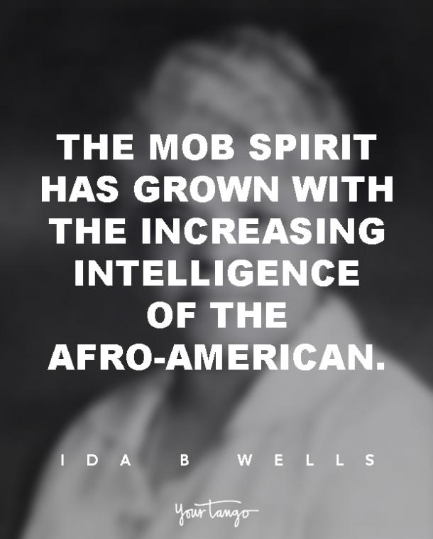 Ida B Wells Inspirational Quotes