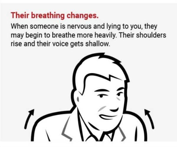 Breathing.