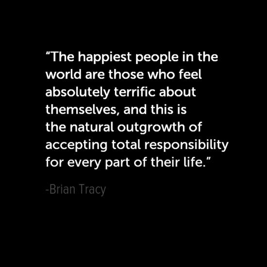 بريان تريسي جعل اقتباسات سعادتك الخاصة