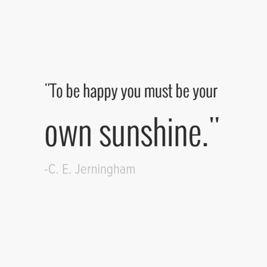 C. E. Jerningham happiness quotes