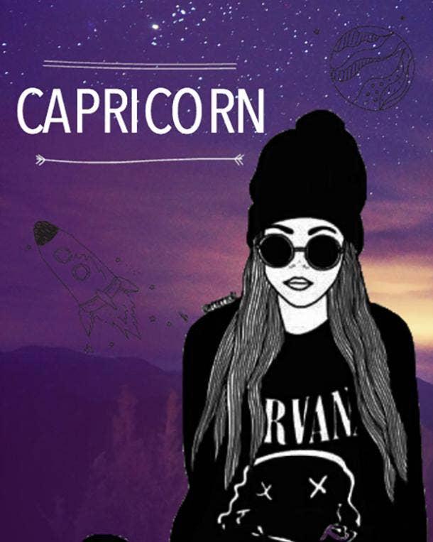 Zodiac Sign Astrology Friends Capricorn