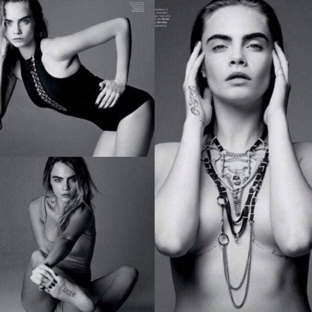 Cara Delvingne Nude Celebrity Pics