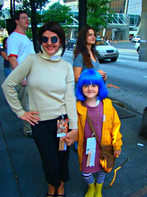 Halloween Costume Ideas, Mother And Daughter