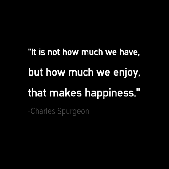 Charles Spurgeon happiness quotes