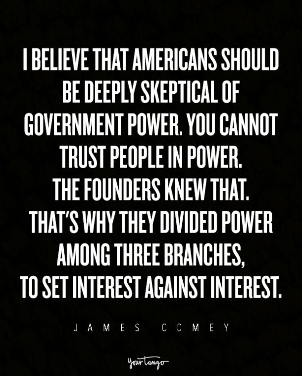 James Comey Quotes on Life