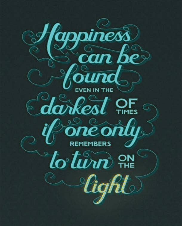 Albus Dumbledore Harry Potter quotes happiness